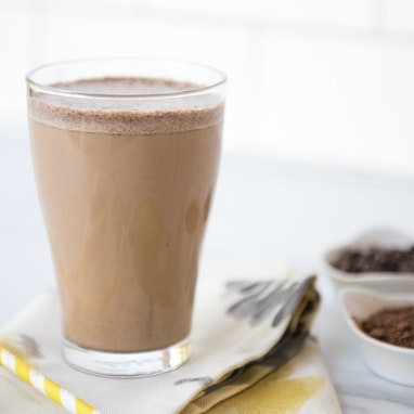 Chocolate Almond Butter Keto Smoothie