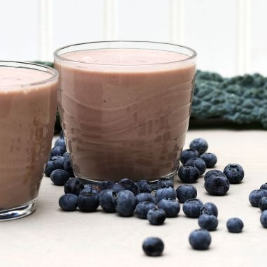 Banana Kale Blueberry Freeze