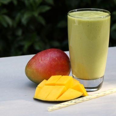 Creamy Mango Avocado Smoothie