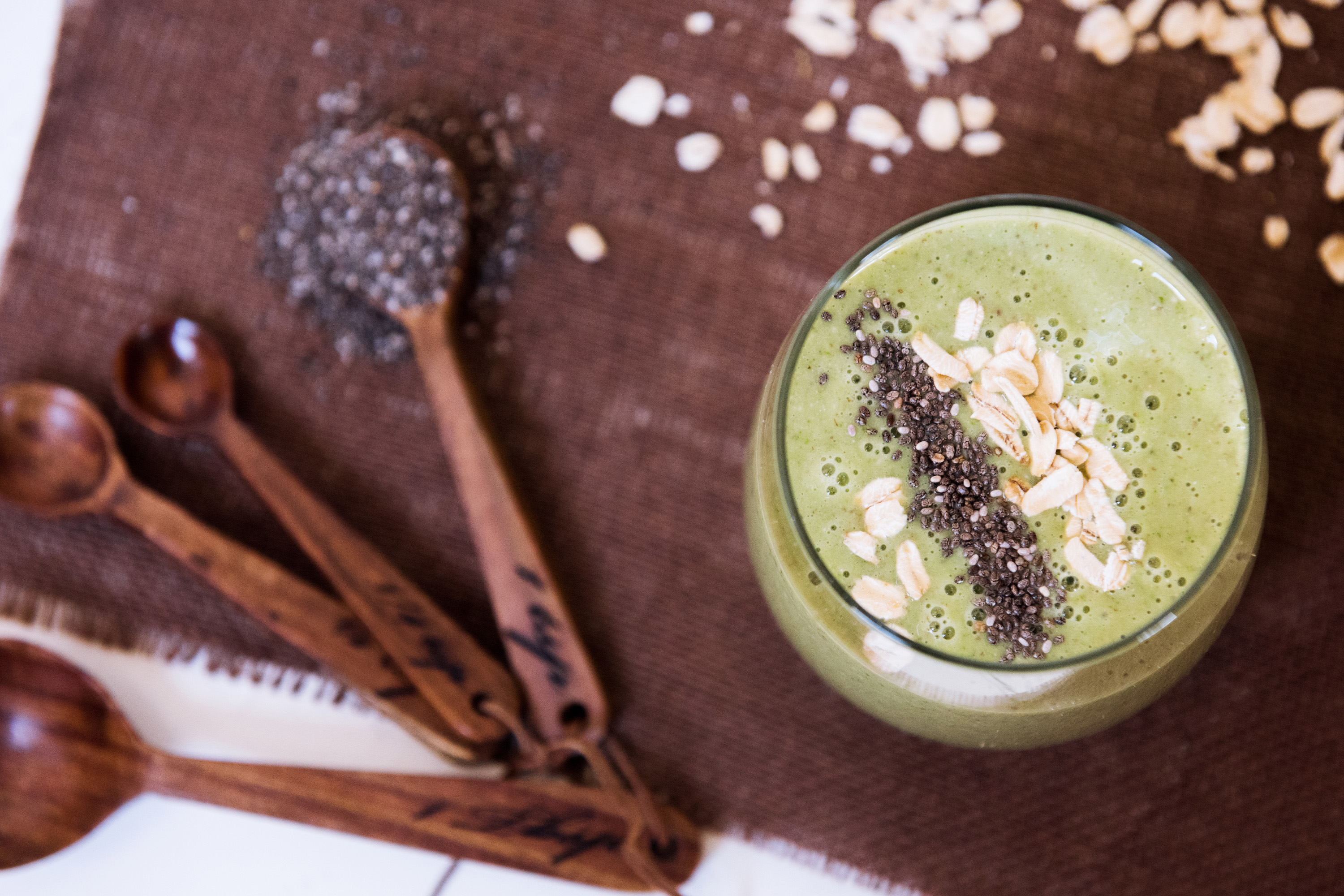 Banana, Oatmeal, and Chia Smoothie - Recipe - NutriBullet