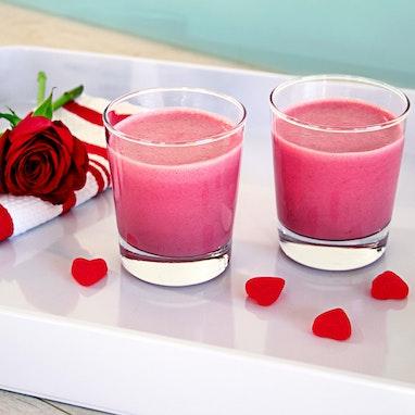 Pink Valentine's Day Smoothie