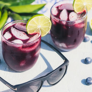 Berry Skinny Cocktail