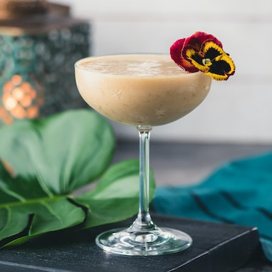 Caramel Banana Cream Cocktail