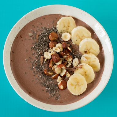 Chocolate Banana Smoothie Bowl