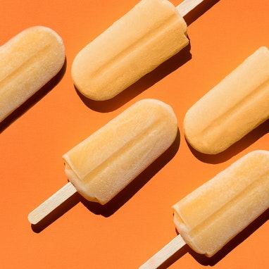 Citrus Cayenne Ice Pops