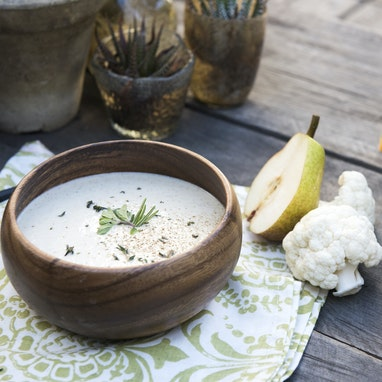 Pear and Cauliflower Soup