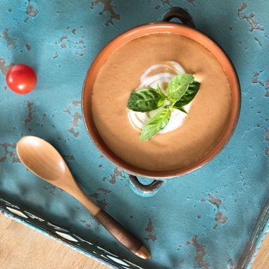 Tantalizing Tomato Basil Soup
