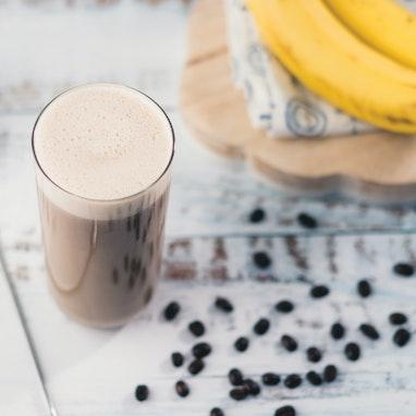 Banana Coffee Frappe