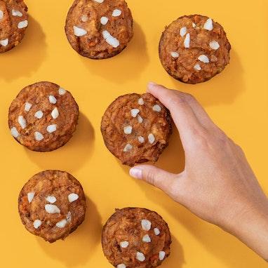 Pumpkin Carrot Pulp Muffins