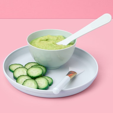 Celery Cucumber Face Mask