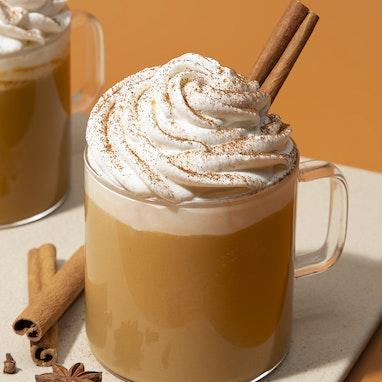 Spiced Pumpkin Chai Latte