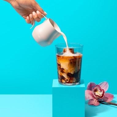 Vanilla Bean Infused Iced Coffee