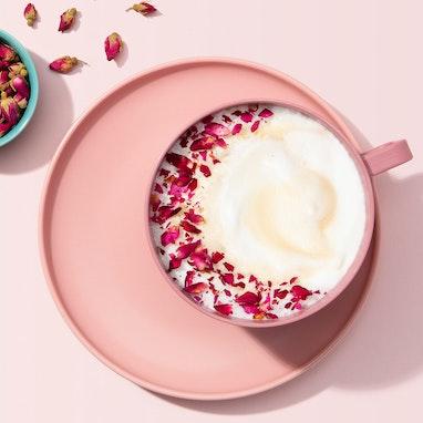 Rose Vanilla Latte